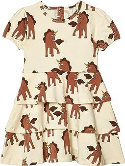 Unicorns All Over Printed Dress (Infant/Toddler/Little Kids/Big Kids)