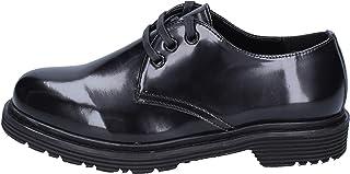 [OLGA RUBINI] 古典的な女性の靴 レディース 合成皮革 ブラック