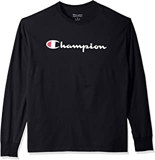 3681b29e Champion Men's Graphic Classic Jersey Ls Tee