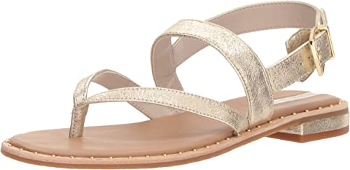 Kenneth Kenneth Cole New York Wohommes Tama Flat Thong Sandal with Backstrap, Soft or, 6.5 M US  gros pas cher