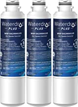 Waterdrop Plus DA29-00020B Refrigerator Water Filter, Replacement for Samsung DA29-00020B, DA29-00020A, HAF-CIN/EXP, 46-9101, NSF 401&53&42 Certified, 3 Pack