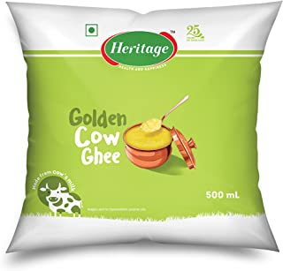 Heritage Cow Ghee, 500ml Pouch