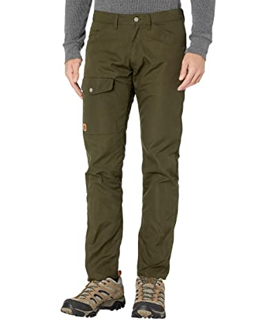 Fjallraven Greenland Jeans in Deep Forest (Deep Forest) Men