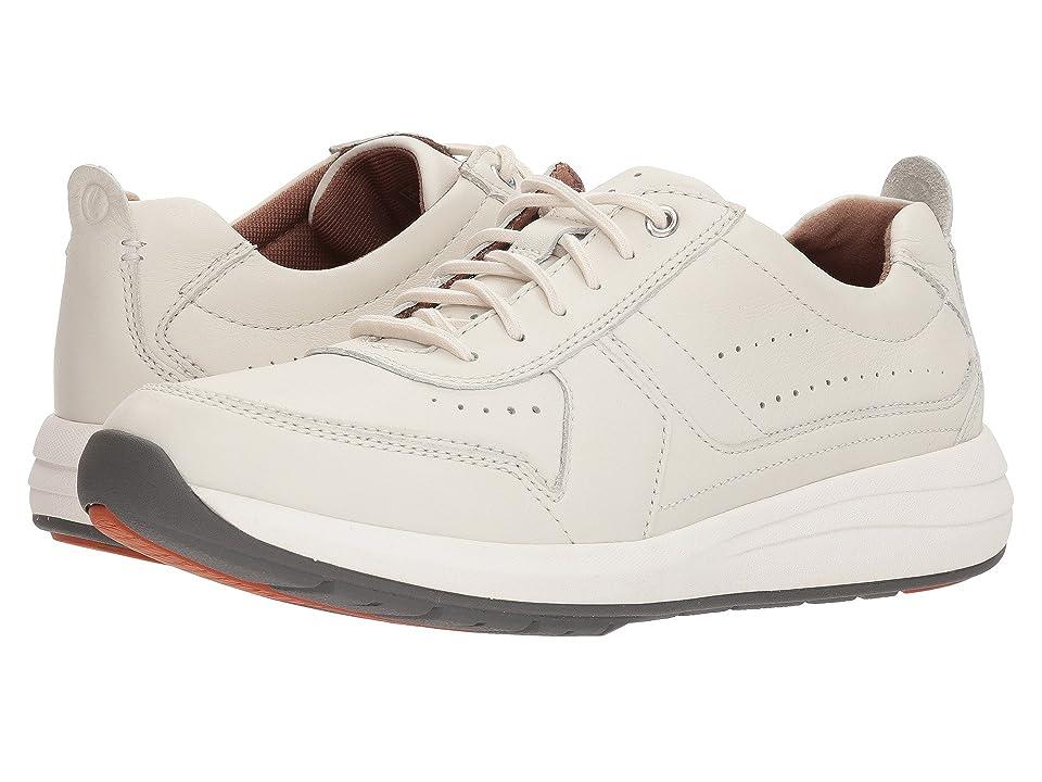 Clarks UnCoast Form (White Leather) Men