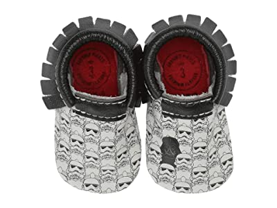 Freshly Picked Star Wars Imperial Army Moccasin (Infant/Toddler) (Black/White/Red) Kid