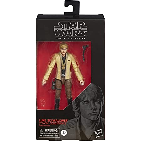 """Star Wars The Black Series Luke Skywalker (Yavin Ceremony) Toy 6"""" Scale A New Hope Collectible Figure, Kids Ages 4 & Up"""