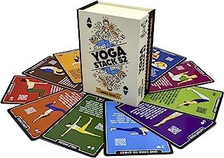 Stack 52 Yoga oefenkaarten: ontworpen door gecertificeerde yoga-instructeur. Inclusief video-instructies. Beginner tot gea...