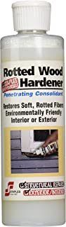 Staples 412 Rotted Wood Hardener, 8-Ounce