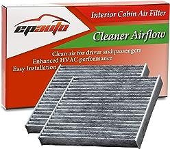 2 Pack - EPAuto CP285 (CF10285) Replacement for Toyota/Lexus/Scion/Subaru Replacement Premium Cabin Air Filter includes Activated Carbon