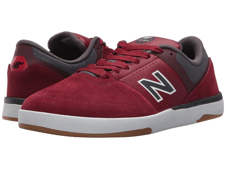 (ニューバランス) New Balance メンズスニーカー?カジュアルシューズ?靴?スケート NM533 Burgandy/Magnet 7.5 (25.5cm) D - Medium