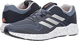 adidas Running. Right Scroll. Raw Steel Silver Metallic Hi-Res Orange f32d4577a