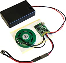 MP3 Sound Chip Module, 4MB Memory, with AAA Battery Box. Ideal for Models and Arts and Crafts.