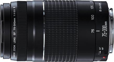 Canon EF 75-300mm f/4.0-5.6 III - Objetivo (SLR, 13/9, Telephoto, Micro Motor, EOS, Black)