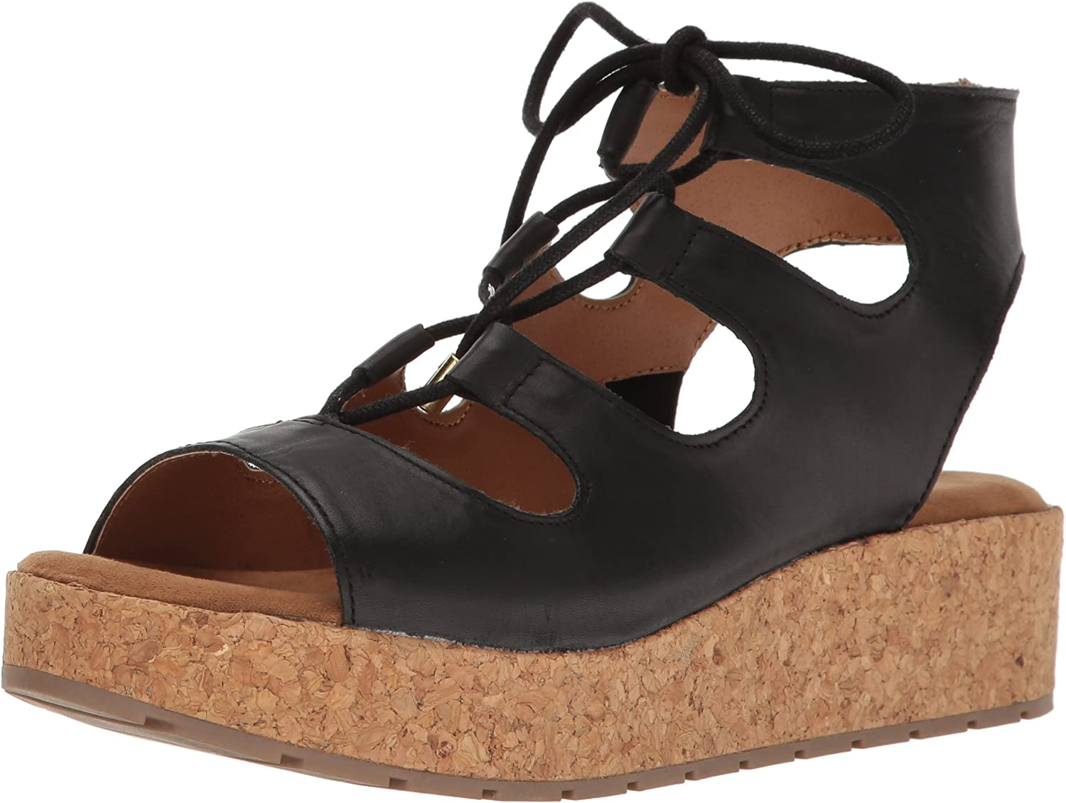 Kenneth Cole REACTION Womens Calm Night Platform Sandal