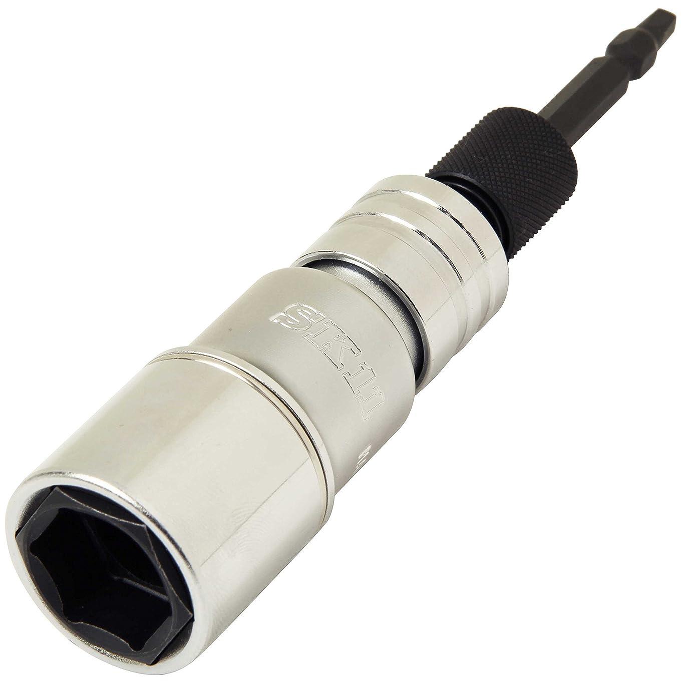 電信存在によってSK11 ビットスルー 首振 ダブルソケット 19 24mm BSW-1924F-6PN