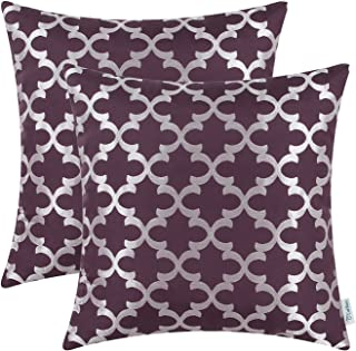Best purple and silver pillows Reviews