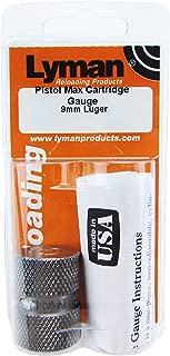Lyman Reloading 9mm Luger Pistol Max Cartridge Gauge