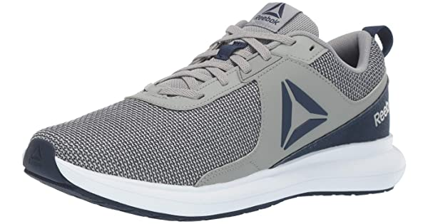 Reebok Men/'s Driftium Running Shoes CN6642 Gray//Navy//White
