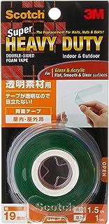 Scotch KTD19 Super Strong Multi-Purpose Flat Surface Mounting Tape, 12 mm x 1.5 m, White
