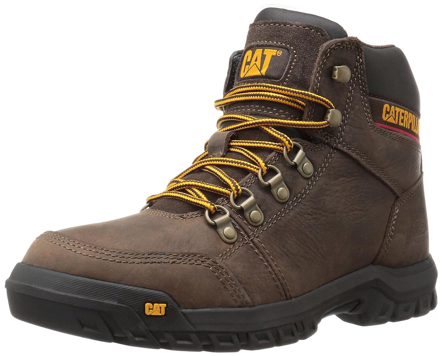 トンネルバターカロリー[CATERPILLAR] P74087 Men's Outline Leather Boot