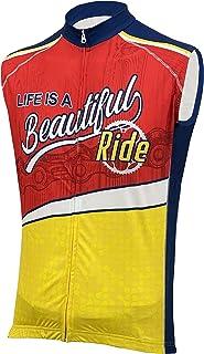 Life is A Beautiful Ride II Men's Sleeveless Cycling Jersey