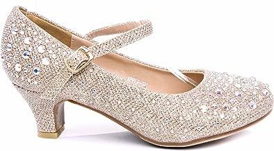 Best little girl gold high heels Reviews