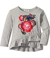 Kenzo Kids - Dragon and Flower Ruffled T-Shirt (Infant)