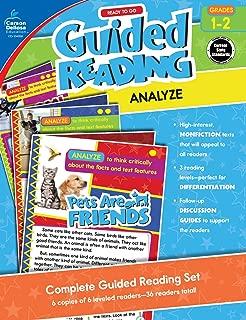 Carson-Dellosa Ready to Go Guided Reading: Analyze Resource Book, Grades 1-2