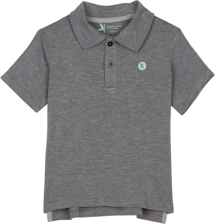 Shedo Lane Boys' & Girls' Short Sleeve Polo Shirt - Kids' UPF 50+ Sun Protection