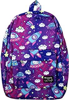 x Hello Kitty Outer Space Allover-Print Nylon Backpack (One Size, Multicolored)
