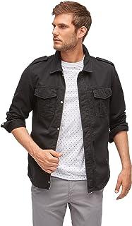 Tom Tailor Denim Jackets & Jackets Revolverheld: Shirt Jacket, Black, XL