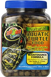 Zoo Med Natural Aquatic Turtle Food, 6.5 Ounce, Maintenance Formula best prices on amazon