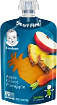 Gerber Purees Apple Carrot Pineapple Toddler Pouch (Pack of 12)