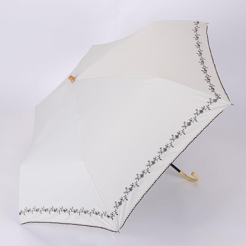 許される派生する写真を撮るPUK00010 白 晴雨兼用 折りたたみ傘 紫外線予防 UVカット レディース 大人気 おしゃれ 日傘 シンプル 可愛い 軽量