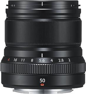 Fujifilm Fujinon XF50 mm F2 R WR - Objetivo para Fujifilm con Montura X (Distancia Focal de 50 mm Apertura f/2-16 autofocus) Negro