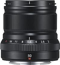 Fujifilm Fujinon XF50 mm F2 R WR - Objetivo para Fujifilm con Montura X (Distancia Focal de 50 mm, Apertura f/2-16, autofocus) Negro
