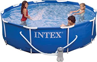 10 ft metal frame pool