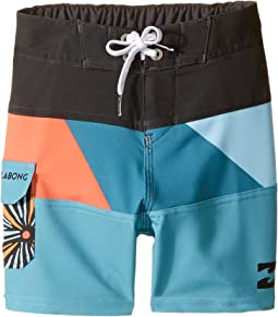 Billabong Kids - Tribong X Boardshorts (Toddler/Little Kids)