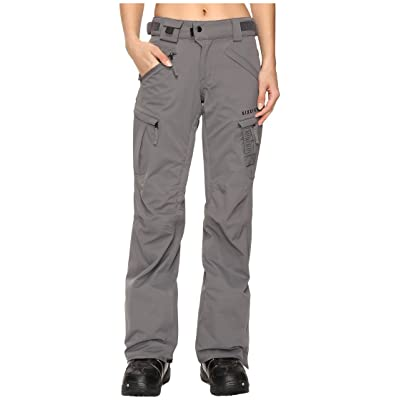 686 Authentic Smarty Cargo Pant (Steel) Women