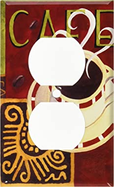 Art Plates - Coffee Cafe Switch Plate - Outlet Cover