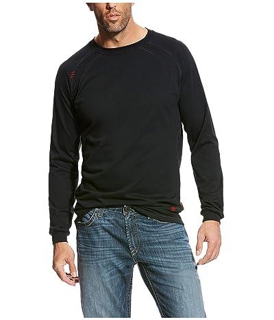 Ariat FR Work Crew T-Shirt (Black) Men