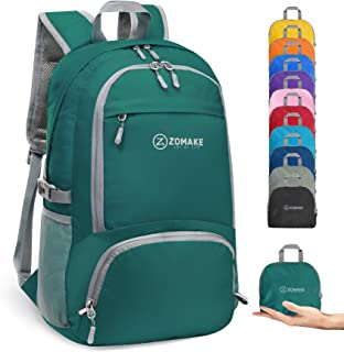 ZOMAKE Lightweight Packable Backpack 30L, Water Resistant Small Hiking Daypack Travel Backpack for Women Men
