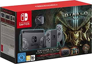 Nintendo Switch Oyun Konsolu, Diablo III, Gri (CDMedia Garantili)