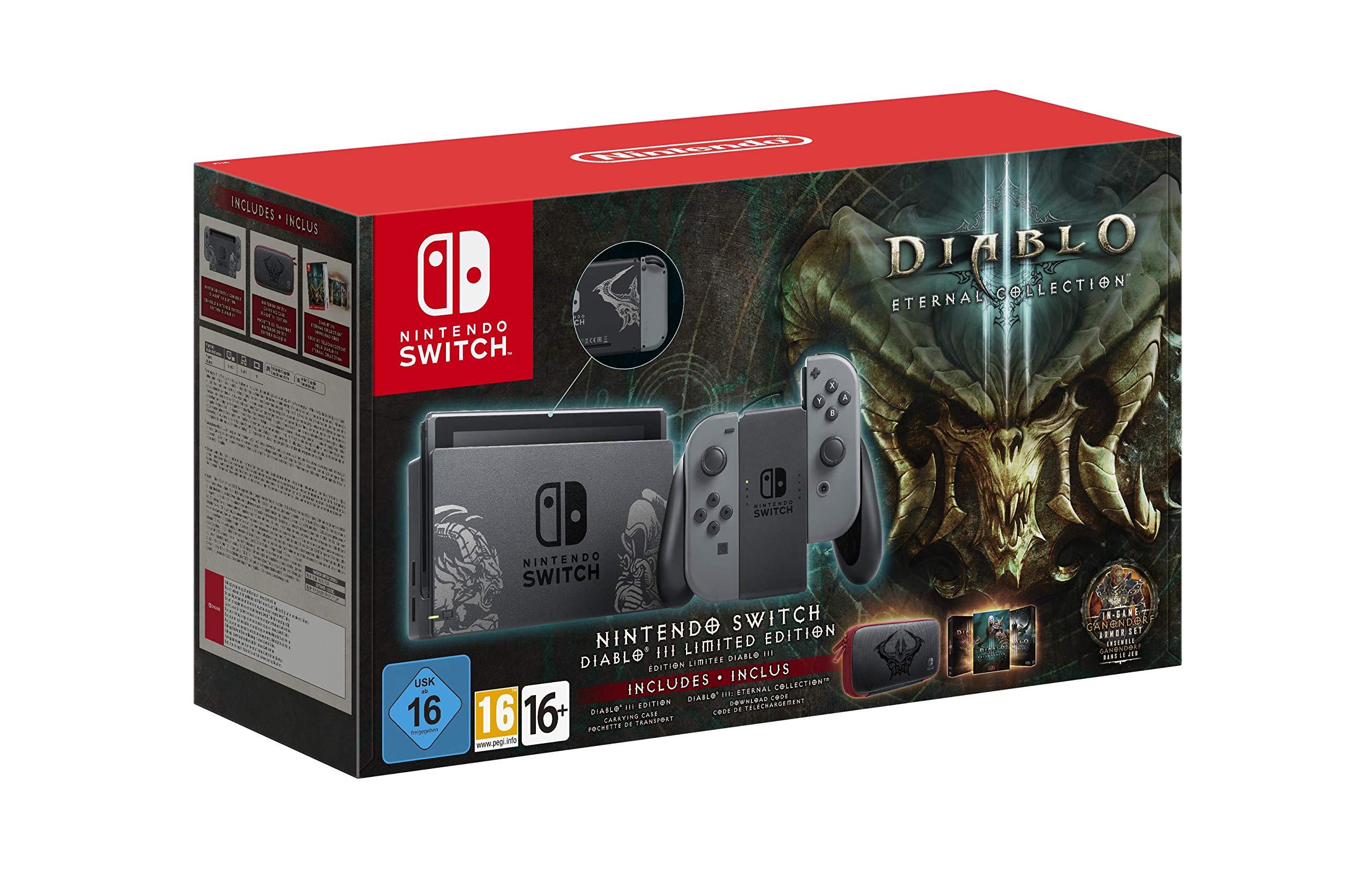 Nintendo Switch - Edición Limitada Diablo III: Nintendo: Amazon.es ...
