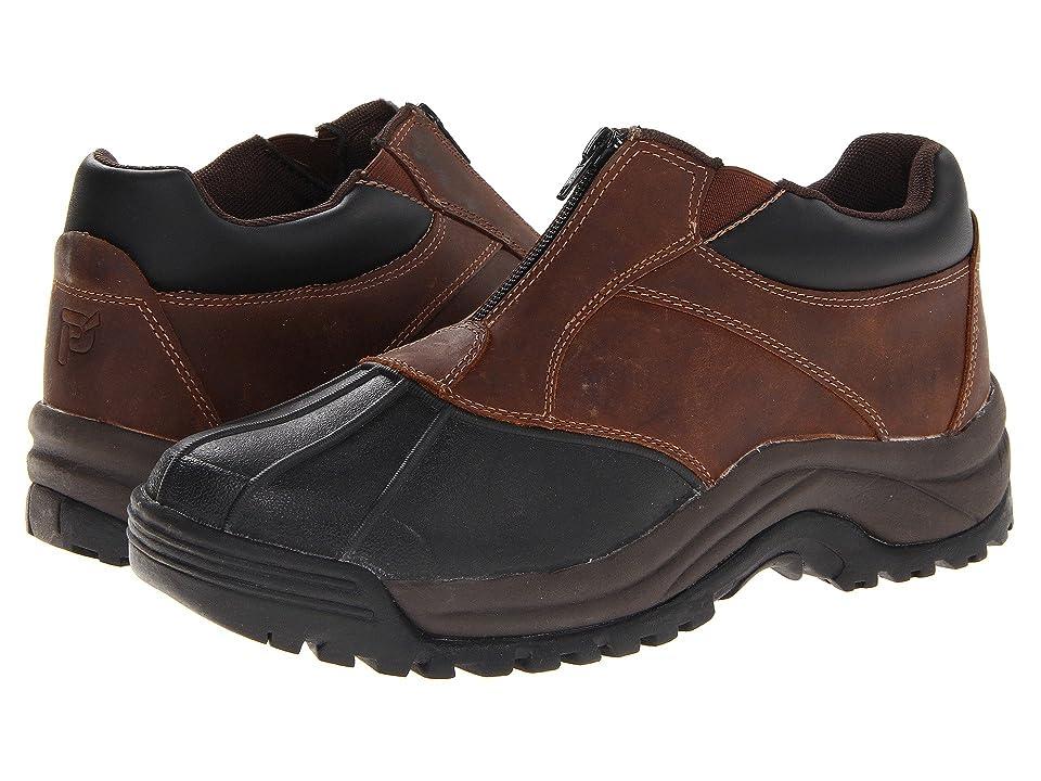 Propet Blizzard Ankle Zip (Brown/Black) Men