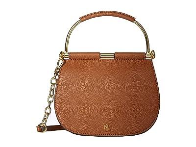 LAUREN Ralph Lauren Enfield Mason 20 Satchel (Lauren Tan) Handbags