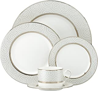 Lenox Pearl Beads 5-piece Place Setting, 4.15 LB, White