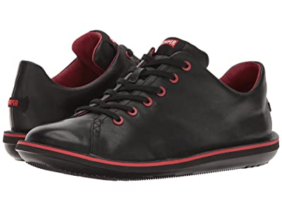 Camper Beetle Lo-18648 (Black Leather) Men