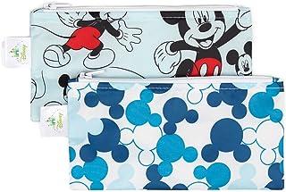 [ディズニー]Disney Bumkins Baby Reusable Snack Bag Small 2 Pack, Mickey Mouse SBS2 [並行輸入品]