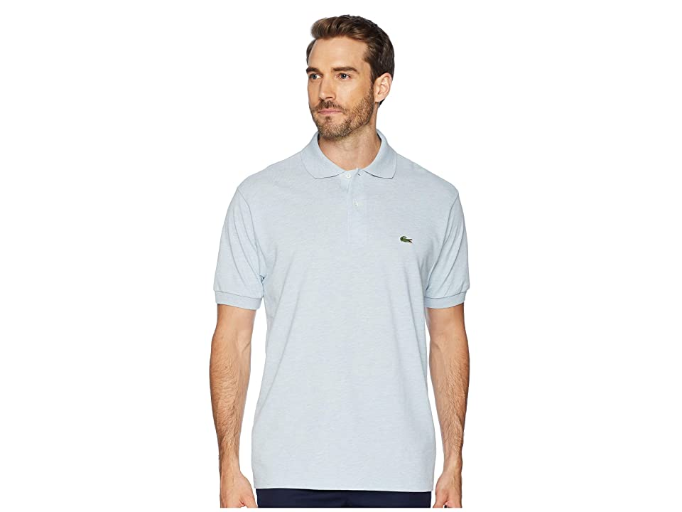 e5abbefa0 Lacoste Classic Chine Pique Polo Shirt (Junk Blue Chine) Men